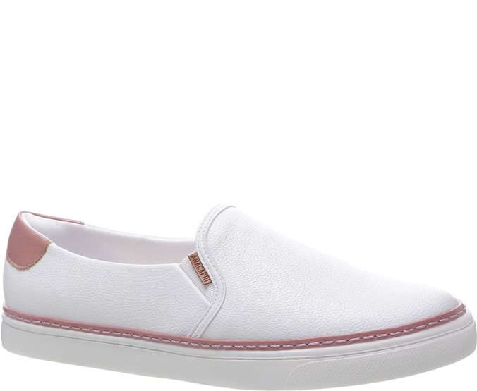 Tênis Paula Colors Slip On Blush