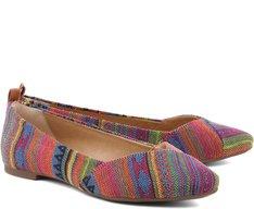Sapatilha Jacquard Multicolor