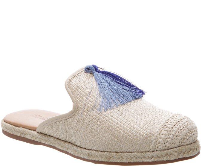 Espadrille Mule Barbicacho Azul