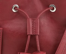 Bolsa Mini Bucket Guadalupe Vermelha