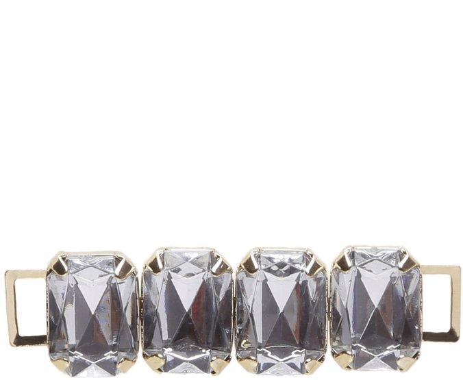 Enfeite Pedraria Cristal Grande