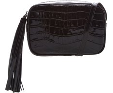 Crossbody Ana Croco Preto