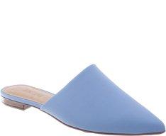 Mule Bico Fino Azul