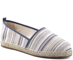 Espadrille Jacquard Listra Azul