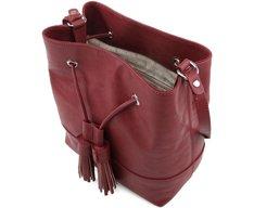 Bolsa Bucket Guadalupe Vermelha