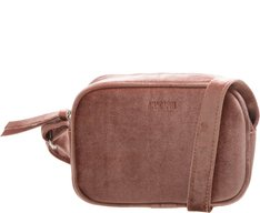 Crossbody Firenze Veludo Blush