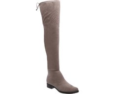 Bota Over The Knee Cinza
