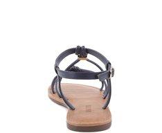 Sandália Rasteira Nautica Azul Marinho