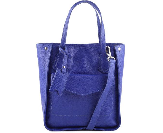 Mini Tote Leon Azul