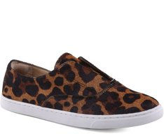 Tênis Slip On Pelo Animal Print