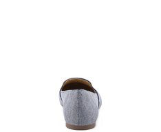 Slipper Tweed Azul