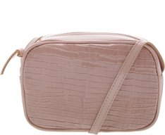 Crossbody Firenze Croco Blush