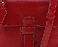 Crossbody Marsala Vermelha