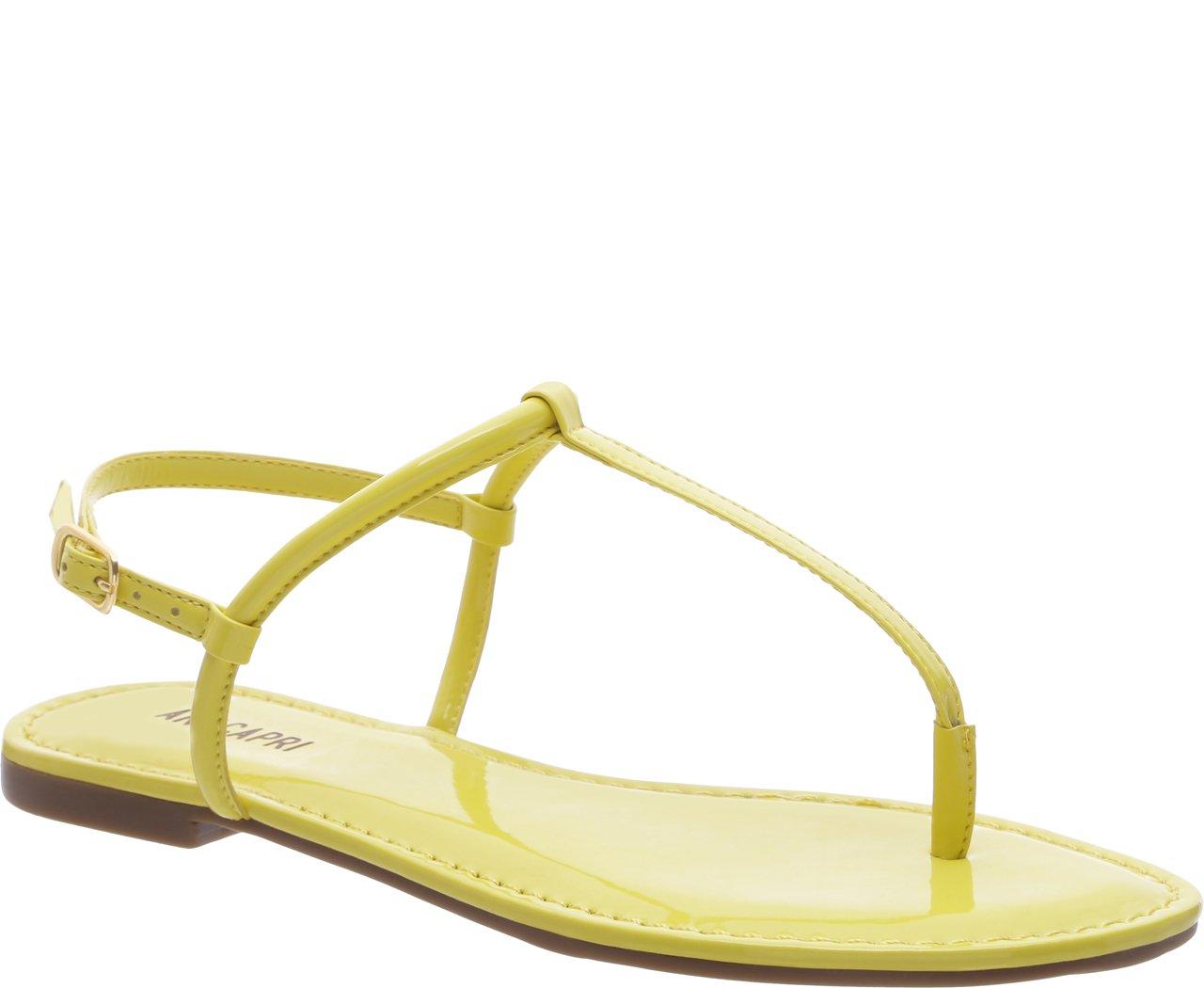 Rasteira Slim Amarela