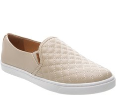 Tênis Slip On Matelassê Off Taupe
