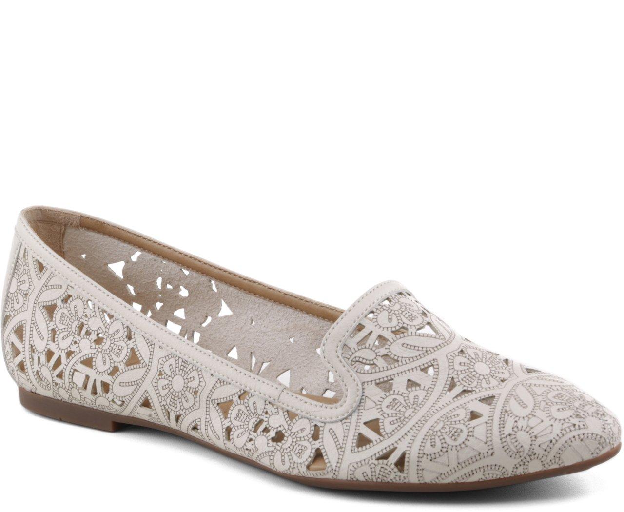 Slipper Floral Laser Branco