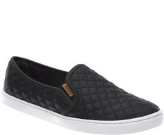 Tênis Slip On Nylon Preto