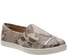 Tênis Slip On Tira Metal Snake