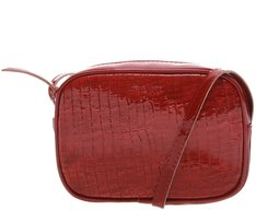 Crossbody Firenze Croco Vermelha