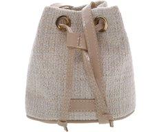 Mini Bucket California Tweed Nude