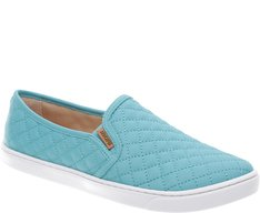 Tênis Slip On Nylon Aqua