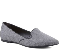 Slipper Tweed Preto