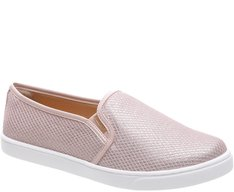 Tênis Slip On Tela Blush