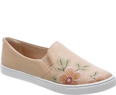 Tênis Slip On Flower Nude