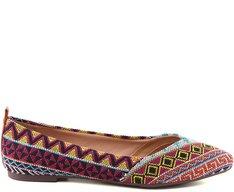Sapatilha Étnica Multicolor