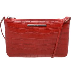 Crossbody Georgia Croco Vermelha