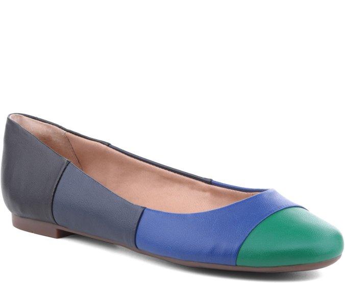 Sapatilha Faixas Multicolor Azul