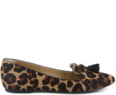Slipper Animal Print com Tassel