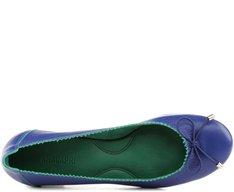 Sapatilha Bicolor Azul