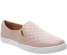 Tênis Slip On Matelassê Blush