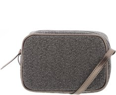 Crossbody Firenze Lurex Prata