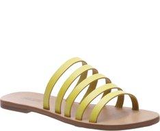 Rasteira Espiral Amarela