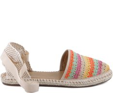 Espadrille Crochê Color