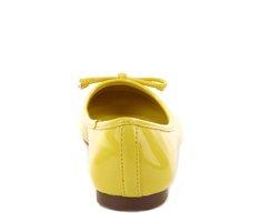 Sapatilha Clássica Verniz Amarela