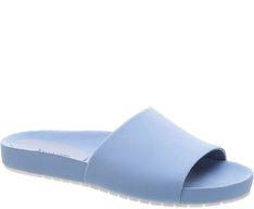 Slide Nobuck Azul