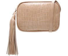 Crossbody Ana Croco Nude