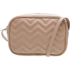 Crossbody Genva Chevron Nude
