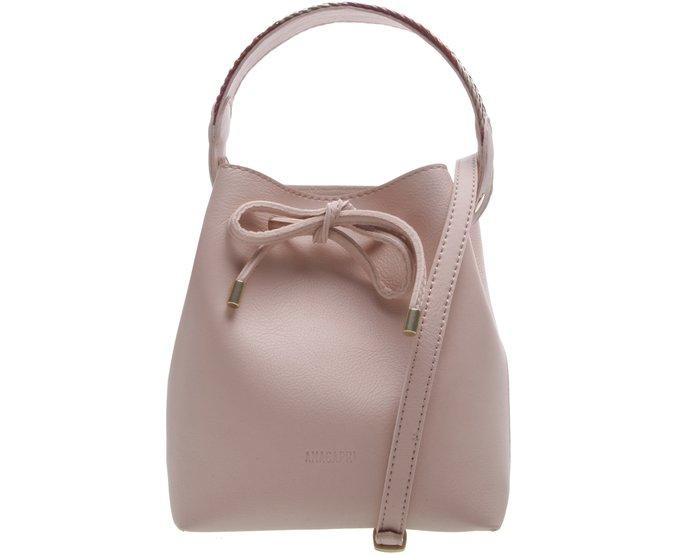 Bucket Marabella Alça Trança Blush