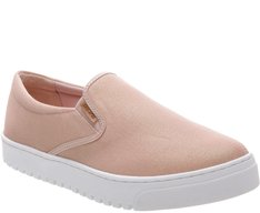 Tênis Slip On Texturizado Blush
