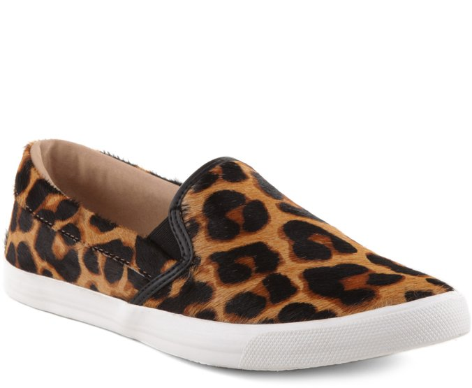 Tênis Slip On Trendy Animal Print