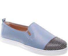 Tênis Slip On Glam Azul