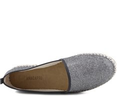 Espadrille Glam Prateada