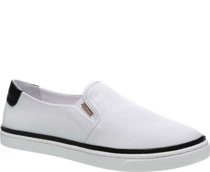 Tênis Paula Colors Slip On Preto