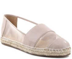Espadrille The Naked Lady Couro Bege