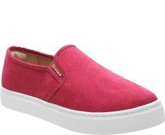 Tênis Slip On Acamurçado Pink
