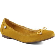 Sapatilha Básica Camurça Amarela
